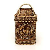 Для дома и интерьера handmade. Livemaster - original item Birch bark box