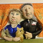Куклы и игрушки ручной работы. Ярмарка Мастеров - ручная работа Куклы по фото Семейная пара. Handmade.