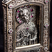 "Картины и панно handmade. Livemaster - original item Icon ""St. Alexander Yaroslavich Nevsky"" (large). Handmade."