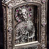 """Сувениры и подарки handmade. Livemaster - original item Icon """"St. Alexander Yaroslavich Nevsky"""" (large). Handmade."""