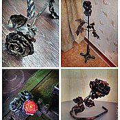 Сувениры и подарки ручной работы. Ярмарка Мастеров - ручная работа кованая роза. Handmade.