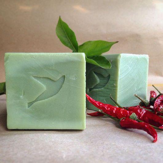 """Мыло ручной работы. Ярмарка Мастеров - ручная работа. Купить Алеппское мыло 25% """"Зейтун"""". Handmade. Тёмно-зелёный"""