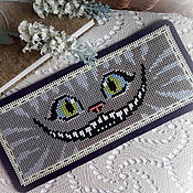 "Канцелярские товары handmade. Livemaster - original item Bookmark ""Cheshire cat smile"". Handmade."