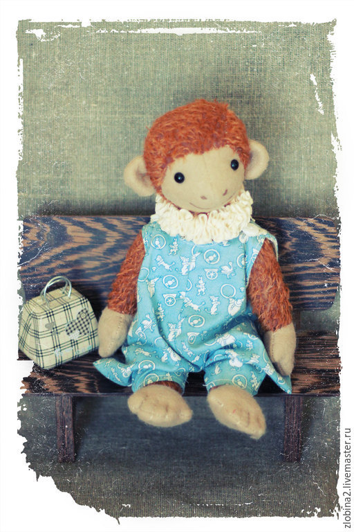 Мишки Тедди ручной работы. Ярмарка Мастеров - ручная работа. Купить обезьянка даша. Handmade. Коричневый, тедди, обезьяна