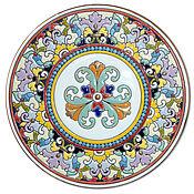 Посуда ручной работы. Ярмарка Мастеров - ручная работа Тарелка декоративная керамическая.260мм.. Handmade.