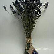 Цветы и флористика ручной работы. Ярмарка Мастеров - ручная работа Букет лаванды засушенный. Handmade.