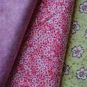 Ткани ручной работы. Ярмарка Мастеров - ручная работа Набор хлопка 100%,  ткани для пэчворка, корея. Handmade.