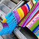"""Текстиль, ковры ручной работы. Ярмарка Мастеров - ручная работа. Купить Коврик """"Бабушкин сад"""". Handmade. Коврик, вязаный крючком"""