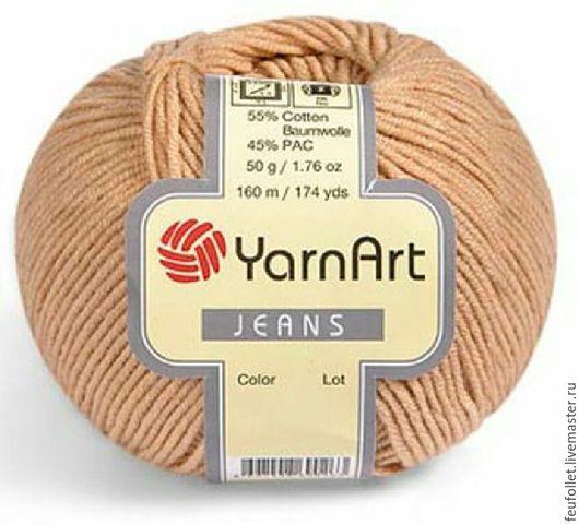 Вязание ручной работы. Ярмарка Мастеров - ручная работа. Купить Пряжа Jeans (Джинс), YarnArt (цвета в ассортименте). Handmade. Разноцветный