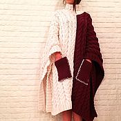 Одежда handmade. Livemaster - original item Ponchos for women. Handmade.