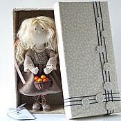 Куклы и пупсы ручной работы. Ярмарка Мастеров - ручная работа Интерьерная текстильная кукла Эйпл. Handmade.