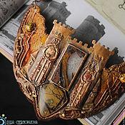 """Украшения ручной работы. Ярмарка Мастеров - ручная работа """"The Hosts of Camelot"""" колье медное. Handmade."""