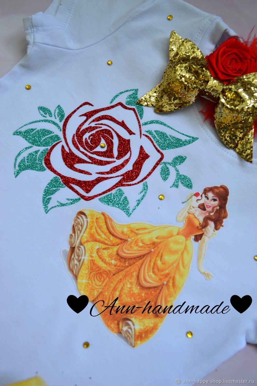 Платье Принцессы, комплект на праздник, пышная юбка