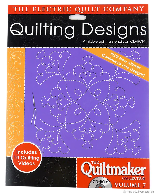 """Дизайны для стежки """"Quilting Designs Volume 7"""" – купить на Ярмарке Мастеров – F5VBPRU   Выкройки для шитья, Люберцы"""