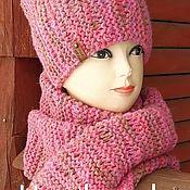 Accessories kits handmade. Livemaster - original item Set accessories: pink. Handmade.