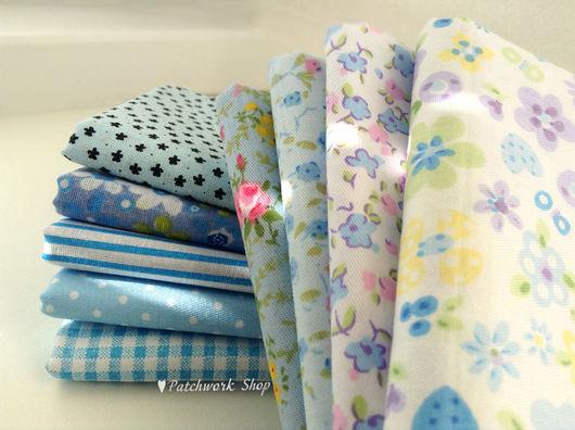 Шитье ручной работы. Ярмарка Мастеров - ручная работа. Купить Набор тканей для пэчворка (NEW зеленый). Handmade. Ткань