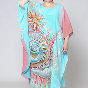 Одежда handmade. Livemaster - original item Batik vestido-serape