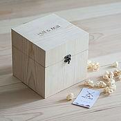 Для дома и интерьера handmade. Livemaster - original item Store things: Solid pine box Hill & Mill. Handmade.