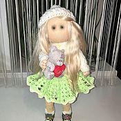 Куклы и игрушки ручной работы. Ярмарка Мастеров - ручная работа Интерьерная кукла ручной работы Снежана.. Handmade.