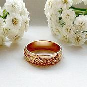 handmade. Livemaster - original item Mountain ring №1 in 585 gold (Ob11). Handmade.