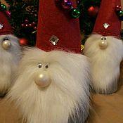 Куклы и игрушки handmade. Livemaster - original item Gnome Christmas!. Handmade.