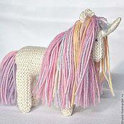Куклы и игрушки ручной работы. Ярмарка Мастеров - ручная работа Единорог Rainbow вязаная игрушка. Handmade.