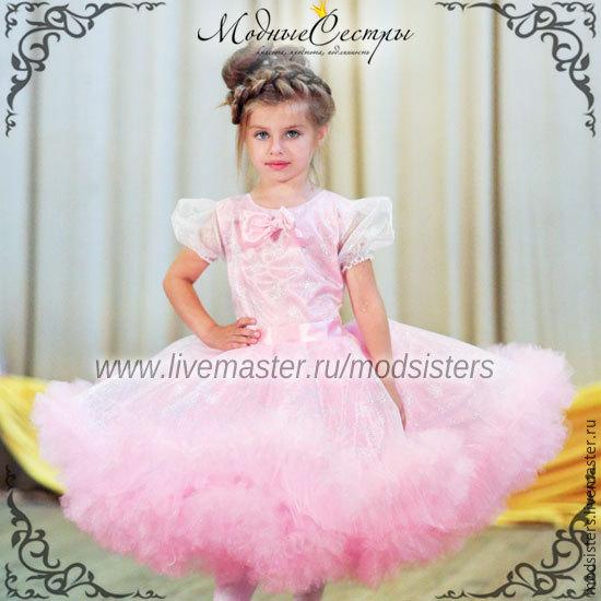 Baby dress 'Pink snowflake'Art.-108, Childrens Dress, Nizhny Novgorod,  Фото №1