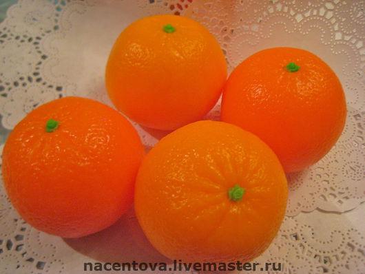 """Мыло ручной работы. Ярмарка Мастеров - ручная работа. Купить Мыло """" Мандарин"""". Handmade. Оранжевый, мыло ручной работы"""
