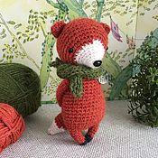 Куклы и игрушки handmade. Livemaster - original item little Fox. Knitted toy wool. Handmade.