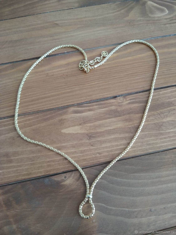 Vintage Givenchy necklace, Vintage necklace, Orenburg,  Фото №1