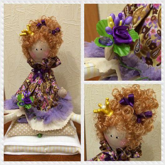 Куклы Тильды ручной работы. Ярмарка Мастеров - ручная работа. Купить Принцесса. Handmade. Ручная работа handmade, бежевый цвет
