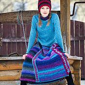 Одежда ручной работы. Ярмарка Мастеров - ручная работа вязаное платье  шерстяное платье с длинным рукавом зимнее платье. Handmade.