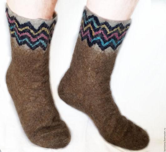 носки валяные, валяные носки, носки верблюжьи, верблюжьи носки, лечебные носки, теплые носки, шерстяные носки, носки из верблюжьей шерсти, носки с орнаментом, носки от ревматизма, носки из войлока,