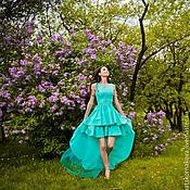 """Одежда ручной работы. Ярмарка Мастеров - ручная работа Вечернее платье """"НИФРИТ"""". Handmade."""