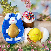 Косметика ручной работы handmade. Livemaster - original item Set of Easter soap as a gift for Easter buy to order Moscow. Handmade.