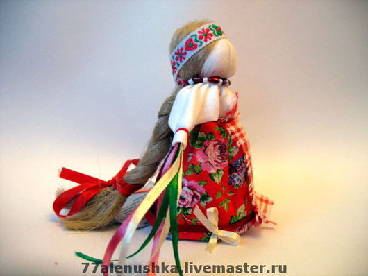 Это фотография с куколкой представлена для примера