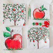 Одежда ручной работы. Ярмарка Мастеров - ручная работа Яблоко от яблони.... Handmade.