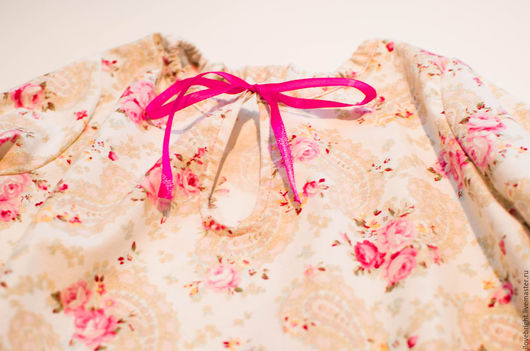 Одежда для девочек, ручной работы. Ярмарка Мастеров - ручная работа. Купить Ночная рубашка для девочки. Handmade. Ночная рубашка