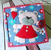 Куклы и игрушки handmade. Livemaster - original item Educational book on the author`s pattern Olesya Yurlova. Handmade.
