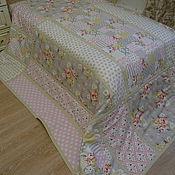 Для дома и интерьера handmade. Livemaster - original item Bedspread cotton