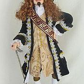 Куклы и игрушки ручной работы. Ярмарка Мастеров - ручная работа Французский вельможа. Handmade.
