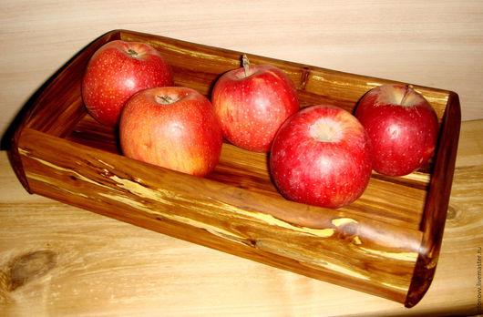 """Кухня ручной работы. Ярмарка Мастеров - ручная работа. Купить поднос """"Элегия"""". Handmade. Поднос, яблоня"""