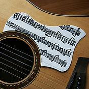 """Музыкальные инструменты ручной работы. Ярмарка Мастеров - ручная работа Pickguard для акустической гитары """"Still Loving You"""". Handmade."""