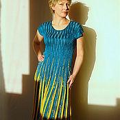 """Одежда ручной работы. Ярмарка Мастеров - ручная работа Платье""""Морская волна"""". Handmade."""