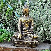 Для дома и интерьера handmade. Livemaster - original item The statue of Buddha made of concrete 13cm for Floriana and terrarium. Handmade.