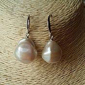 Украшения handmade. Livemaster - original item Earrings with Baroque pearls, lot3. Handmade.
