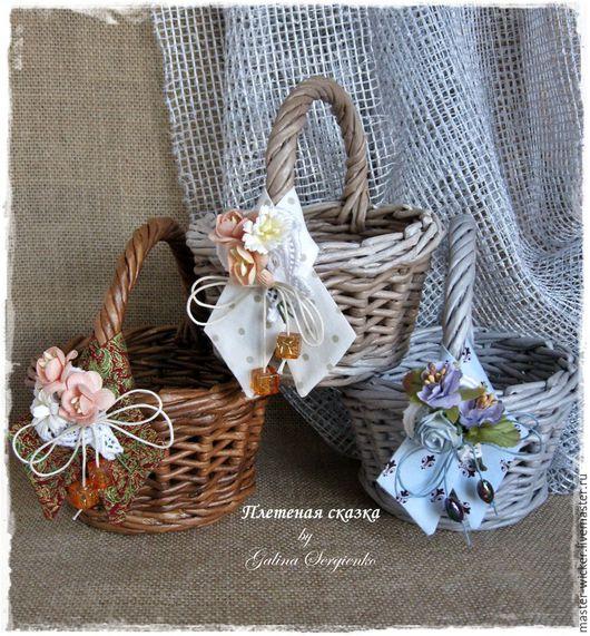 корзиночка, плетеная корзиночка, корзиночка с бутоньеркой, подарок, подарок подруге, подарок маме, подарок на 8 Марта, подарок коллеге, конфетница, сухарница, органайзер.