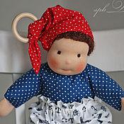 Куклы и игрушки ручной работы. Ярмарка Мастеров - ручная работа Морячок Марин - кукла игровая ручной работы для мальчика. Handmade.