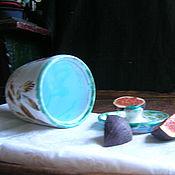 Посуда ручной работы. Ярмарка Мастеров - ручная работа Зайки на полянке. Handmade.