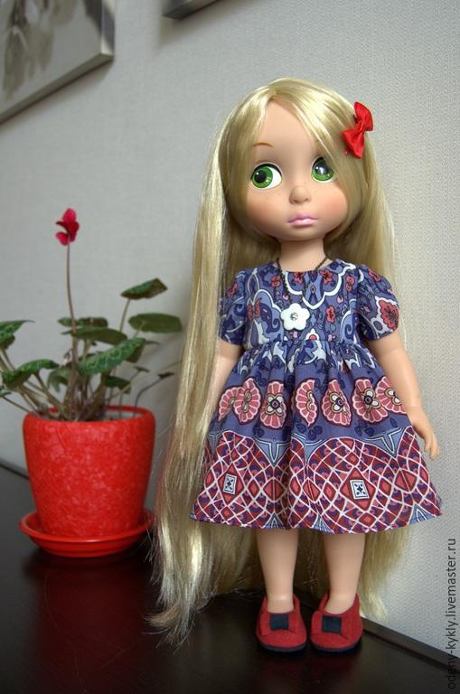 Одежда для кукол ручной работы. Ярмарка Мастеров - ручная работа. Купить №026 Платье для куклы Дисней/Disney.. Handmade. Кукла дисней